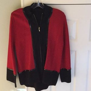 Jackets & Blazers - Grace Dane Lewis knit sweater jacket.
